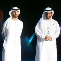 Mansoor MRM y Ali Bin Thalith, 17/03/2014. Foto: khalidaldarae