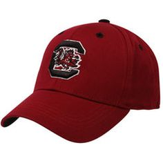 Top of the World South Carolina Gamecocks Youth Garnet One-Fit Hat
