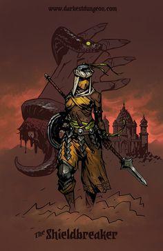 The Shieldbreaker | Darkest Dungeon