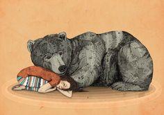 {Huntress} by Sandra Sandra Dieckmann - love the colours & tribal print