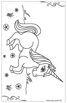 Unicorn Coloring Pages for Kids Free Printables. Here's a fantastic listing from unicorn Coloring &. Preschool Coloring Pages, Coloring Sheets For Kids, Printable Coloring Pages, Printable Worksheets, Free Printables, Unicorn Coloring Pages, Animal Coloring Pages, Colouring Pages, Quilling Images