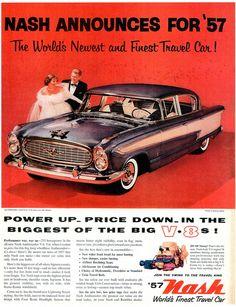 1957 Nash Ambassador Custom Four-Door Sedan