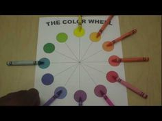 Art Lessons for Kids: The Color Wheel - YouTube