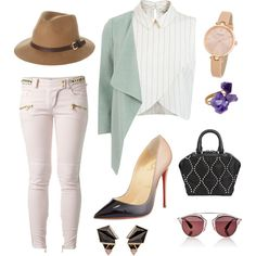 A fashion look from September 2015 featuring Miss Selfridge tops, Dorothy Perkins coats and Balmain jeans. Browse and shop related looks.