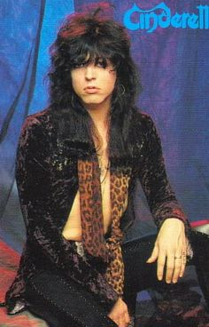 Tom Keifer of Cinderella....he has the most beautiful lips in the history of ....the whole history