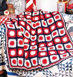 Vintage Crochet Pattern Patchwork Granny by GrandmaHadItGoinOn, $1.38
