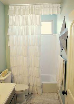 shower curtains.