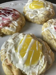 Cream Cheese Danish made with the Two Ingredient Dough - Pound Dropper