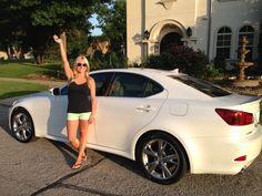 Congrats Laura! You earned your #Lexus bonus with #Nerium!