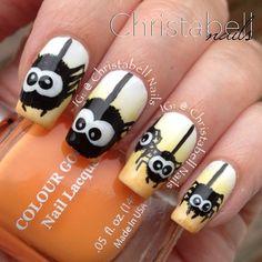 halloween by christabellnails  #nail #nails #nailart