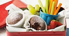 Food allergies can limit some food choices - but these easy muffins are perfect for lunchboxes for all the family, especially those who are intolerent to dairy or egg.