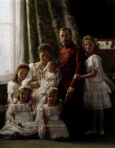La familia de Nicolás II