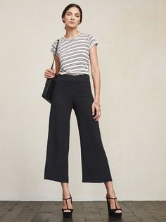 Alright, these guys make us wanna put on pants. The Selma Pant is a textured crepe pant with front pockets and a cropped wide leg. https://www.thereformation.com/products/selman-pant-solitaire?utm_source=pinterest&utm_medium=organic&utm_campaign=PinterestOwnedPins