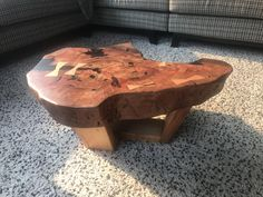 Just finished making a table for my dad for his birthday using a piece of unidentified timber my grandfather saved (and using my grandfathers tools to get started too). Its not a full river table - more like a delta. Or a bay? Woodworking As A Hobby, Popular Woodworking, Woodworking Plans, Woodworking Projects, Slab Table, Make A Table, Wood Tools, Wood Plans, Pyrography