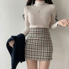 Korean Girl Fashion, Ulzzang Fashion, Kpop Fashion Outfits, Girls Fashion Clothes, Edgy Outfits, Korean Outfits, Asian Fashion, Cute Casual Outfits, Pretty Outfits