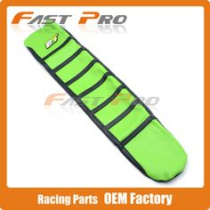 Pro Rib Ribbed Green Gripper Soft Rubber Seat Cover For KXF250 09-12 09 10 11 12 KXF450 09-11 KX250F KX450F Motorcycle