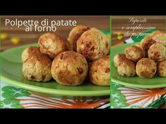 Baked Potato Meatballs – Soft and Tasty, Simple … – Meat Foods Ideas Antipasto, Meat Recipes, Baked Potato, Potatoes, Tasty, Dishes, Baking, Simple, Prosciutto Cotto