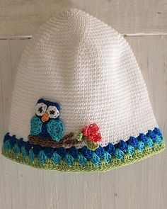 Picture of Owl T-Shirt Dress, Hat and Purse Crochet Pattern
