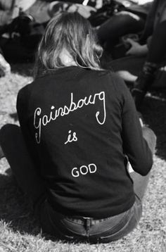 Gainsbourg is god sweater