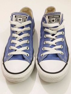 a0bd4d26b5f1 CONVERSE Chuck Taylor Mens 6 Womens 8 OX BASKETBALL Shoes Low Blue Canvas  All  Converse  Athletic