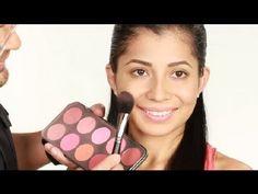 Cómo acentuar tus mejillas : Técnicas de maquillaje con Luis Casco