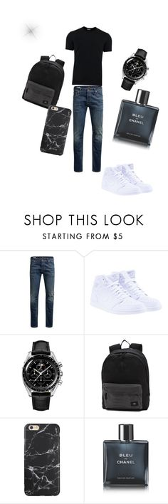 """""""Sans titre #6"""" by constanceipom ❤ liked on Polyvore featuring Jack & Jones, NIKE, Vans, Chanel, Dolce&Gabbana, men's fashion, menswear and men"""