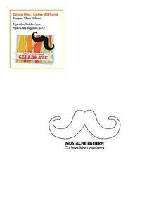 Free Mustache pattern