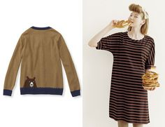 SPOTTED: BEAR SWEATER Miss Moss : Syrup