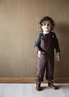 overalls just like you wore as a child - made withafinewale corduroy.adorable on girls or boys with one of our organic cotton tees or a sweater underneath or