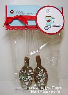 Jane can make these for her sisters and dad. stocking stuffers for Christmas maybe?!