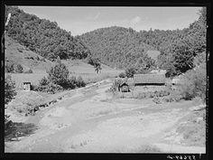 Near Hyden, Leslie Co., KY, August 1940.