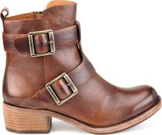 The Kork-Ease Maxine boot in Malaga brown #ankle #boots