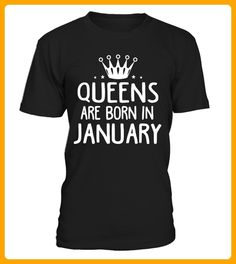 QUEENS ARE BORN IN JANUARY - Weihnachten shirts (*Partner-Link)