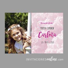 Estampas de primera comunion personalizadas con foto. #primeracomunion #comunion #detallesparainvitados  #invitacionesonline #papeypapel #comunio