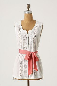 With a Twist Tank, Anthropologie