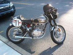 Suzuki TU250X Cafe Racer
