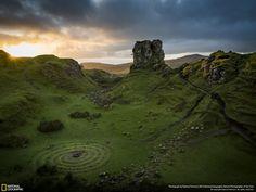 Fery (Fairy) Glen, Scotland