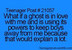 That would explain a lot... XD