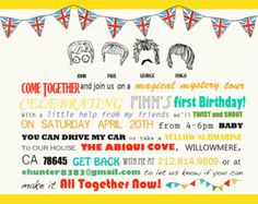 112 Best Party Planning Beatles Images The Beatles The Beatles