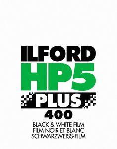 Ilford HP5 Plus Photo Film Screenprint