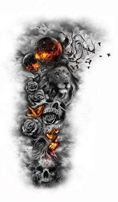 Detailed sleeve - so creative, love it