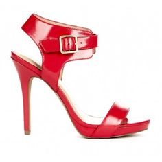 I like the look of the chunky ankly strap with these Aubrey shoes from SoleSociety