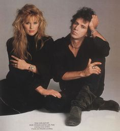 love is always beautiful.  PATTI HANSEN & KEITH RICHARDS
