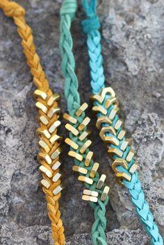 Nuts and Bolts bracelets