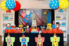 Superhero Party Ideas Planning Idea Supplies Decorations Cake