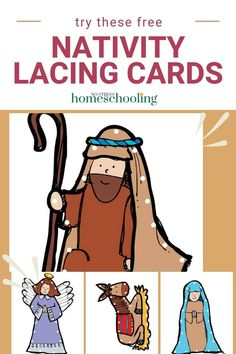 Looking for a fun Christmas fine motor activity? Lacing cards are a great way for preschoolers to practice their fine motor skills. Use these free Christmas Lacing Cards for fine motor skills to help Fun Writing Activities, Fine Motor Activities For Kids, Sensory Activities Toddlers, Infant Activities, Sensory Bins, Christmas Stories For Kids, Toddler Christmas, Preschool Printables, Free Preschool