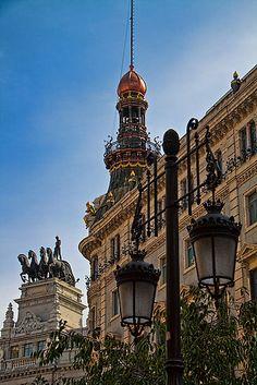 Spain. Madrid. Imperial splendour of Madrid.