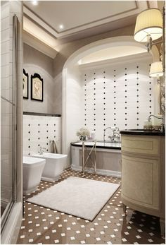 If you are planning to have a Tropical Bathroom Design. these 25 Tropical Bathroom Design Ideas will surely be a good source of ideas and inspiration! Bathroom Decor Sets, Bathroom Design Small, Bathroom Colors, Bathroom Styling, Contemporary Bathrooms, Modern Bathroom, Romantic Bathtubs, Bad Styling, Tropical Bathroom