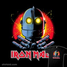 Ript Apparel: Custom T-shirts & Cheap Limited Edition Graphic Tees Ready Player One Movie, The Iron Giant, Day Of The Shirt, Geek Shirts, World 7, How To Make Tshirts, Iron Maiden, Cool Items, Art Pictures