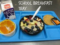 Make the Grade with School Breakfast - A Mom's Take